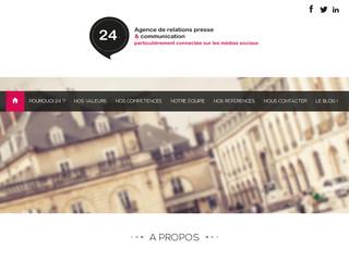 agence de communication vingt-quatre à Dijon